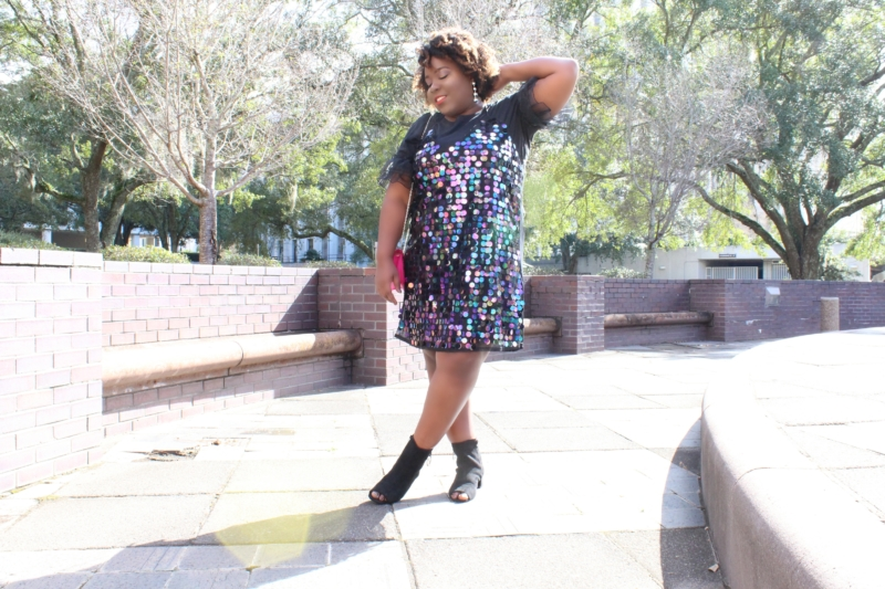 New Years Eve Party Plus Size Dress