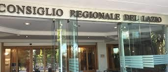 LAZIO, LA SETTIMANA IN CONSIGLIO REGIONALE (10 - 14 MAGGIO 2021)-