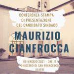 Presentazione del candidato sindaco Maurizio Cianfrocca.