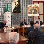 """Ad Aquino si è parlato di Giacomo Matteotti. Sala Consiliare gremita alla presentazione del Libro """"Solo"""" del Sen. Riccardo Nencini."""