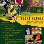 """Sora: #INAUGURAZIONE: Domenica 6 giugno 2021 evento """"RIONE NAPOLI, dal post sisma alla rigenerazione urbana""""."""