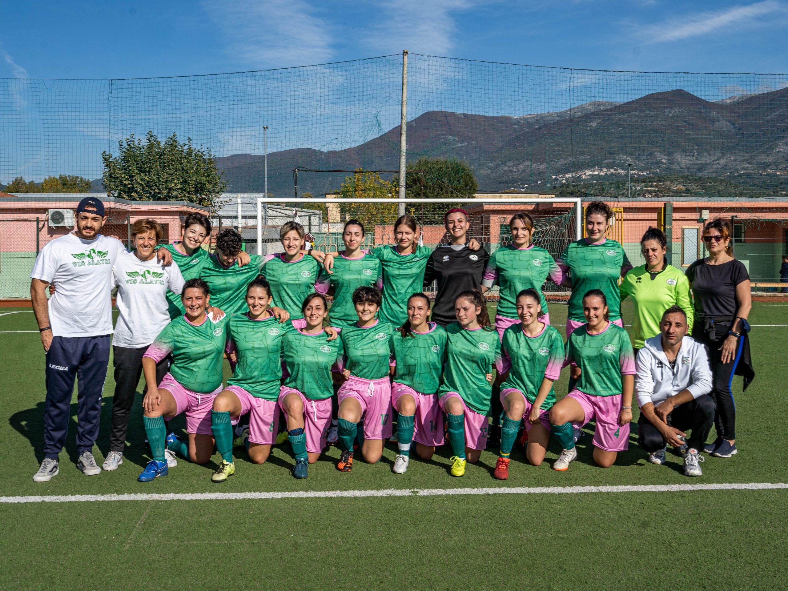 Nasce l'eccellenza femminile di calcio della città di Alatri.