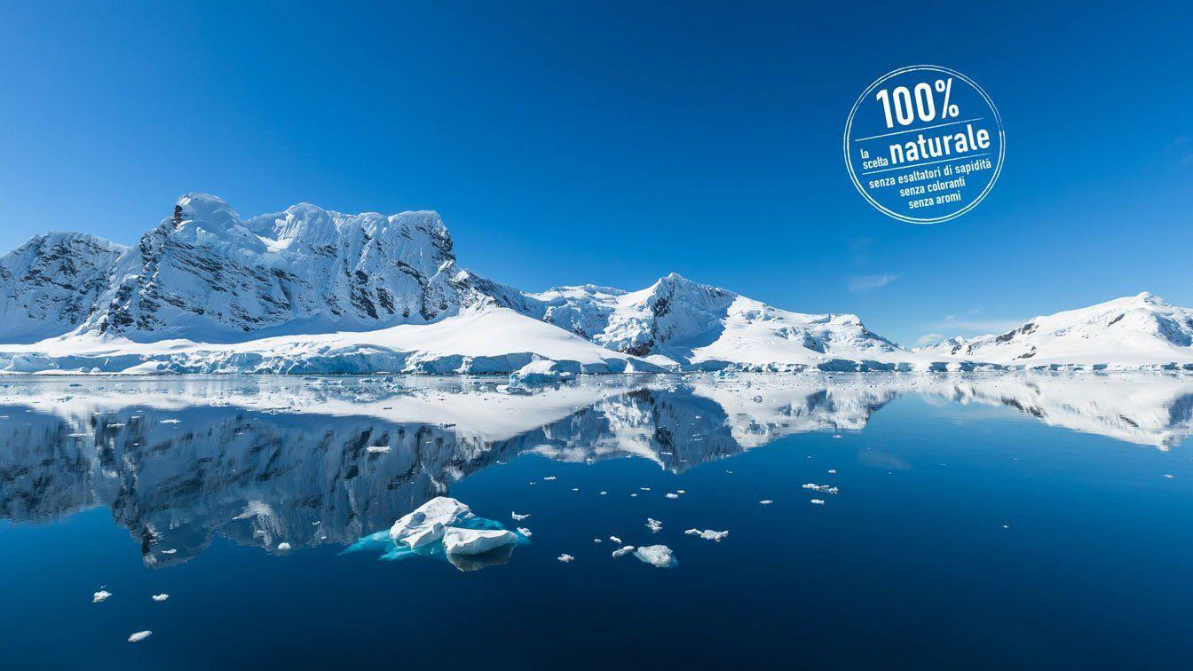 Foto di lago ghiacciato