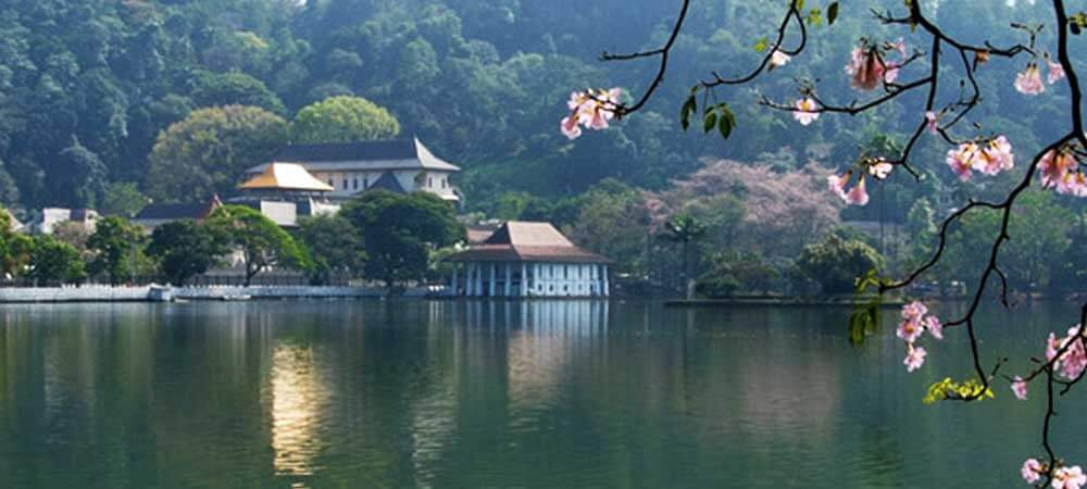 Visit the sacred city of Kandy, Sri Lanka, one of 8 UNESCO sites in Sri Lanka.