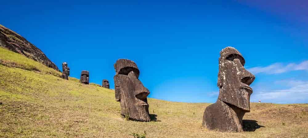 Explore Easter Island, Machu Picchu, Patagonia + more in South America.