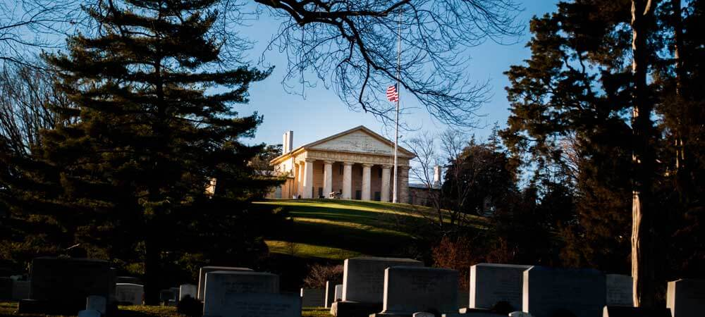 Visit Arlington National Cemetery and more in Arlington, VA - one of 11 interesting destinations where you can explore military history in the US.