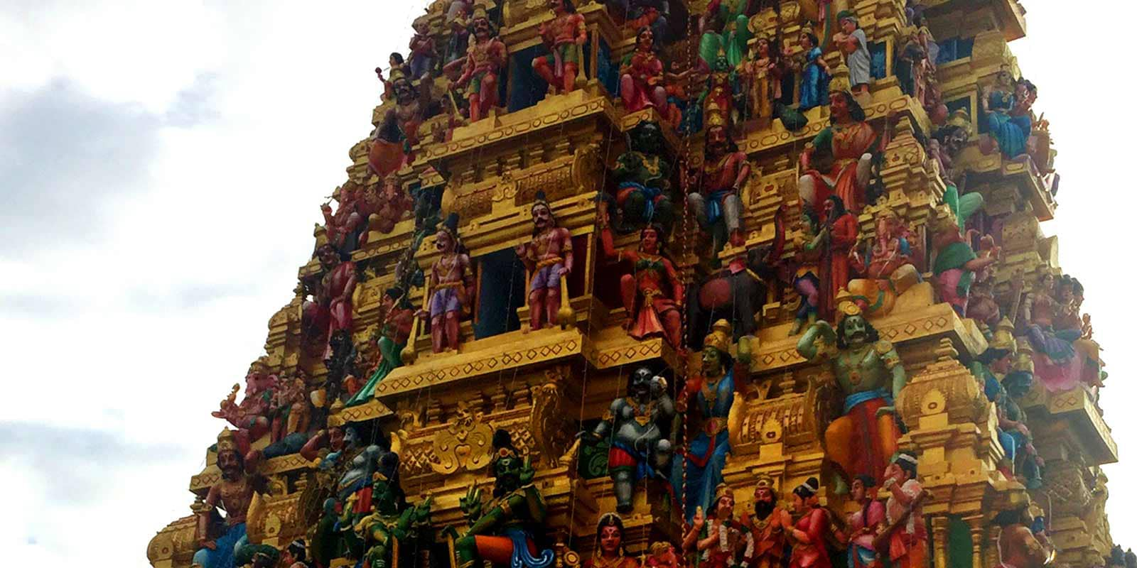 Explore colorful Buddhist and Hindu temples on a tuk tuk safari across Colombo, Sri Lanka. Find out what else you'll see on this fun tour!