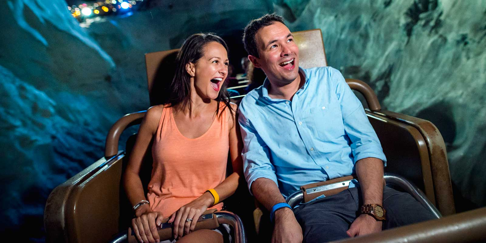 Disney World has tons of rides adults will enjoy, such as Expedition Everest at Animal Kingdom.