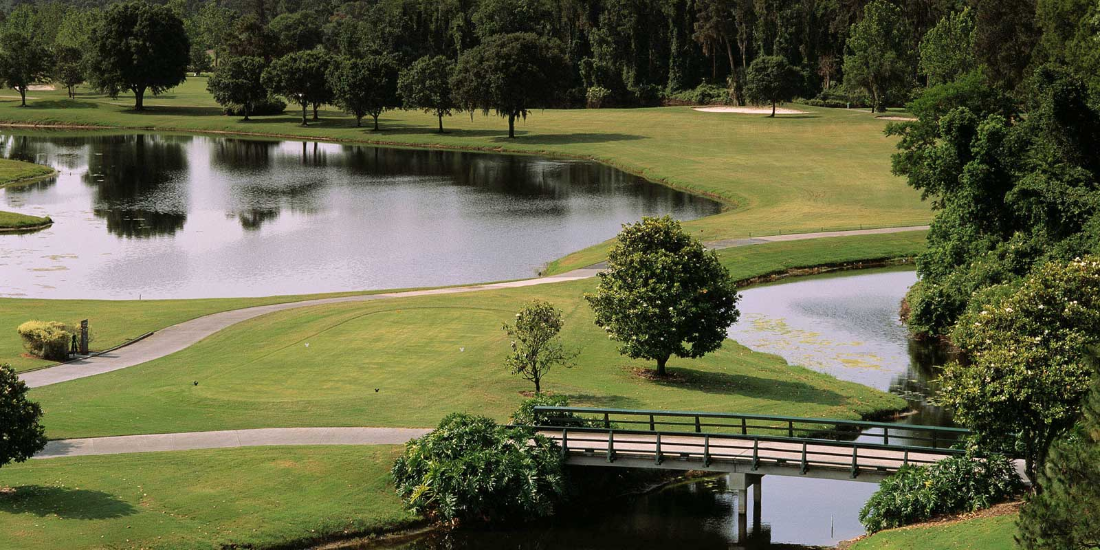 Play golf at one of Disney World's 3 golf courses, such as Magnolia Golf Course.