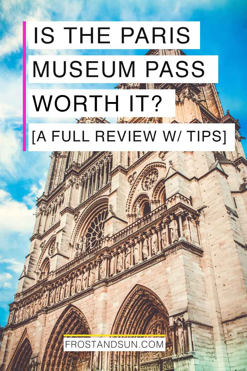 The Paris Museum Pass can save you time and money - 2 important factors for any vacation. Check out this Paris Museum Pass review to find out if the Paris Museum Pass is worth it for you. #paris #france