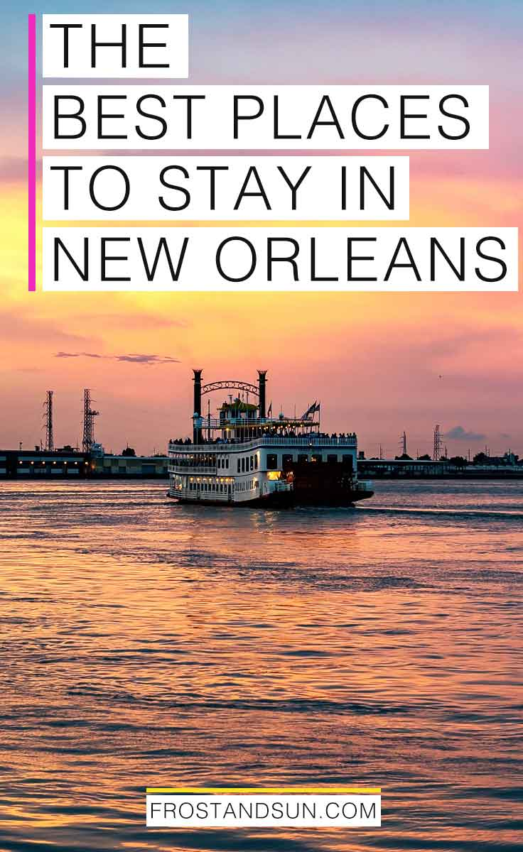 Need a hotel in the Big Easy? Check out my post on the best places to stay in New Orleans, broken down by neighborhood and special features. #nola #onetimeinnola