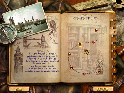 lost treasures of el dorado journal