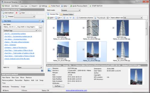 advanced_renamer_screenshot