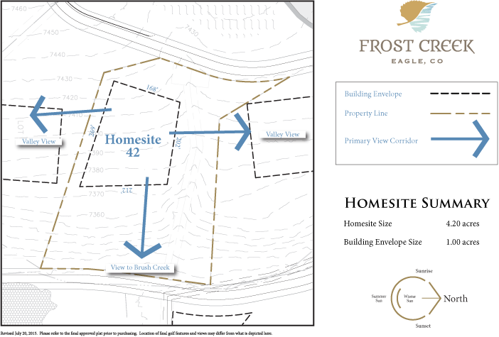 Homesite 42 diagram