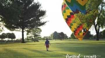 Hot Air Balloon Festival- Frosted Events frostedevents.com- Summer Bucket List with Toddler Baby