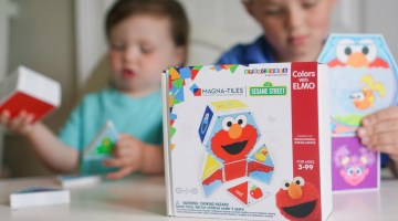 Sesame Street Magnatiles - Toys for Toddlers, Preschool Toys -gifts for preschool age
