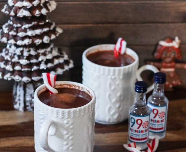 Spiked Spicy Peppermint Cocoa - Spiked Spicy Peppermint Cocoa
