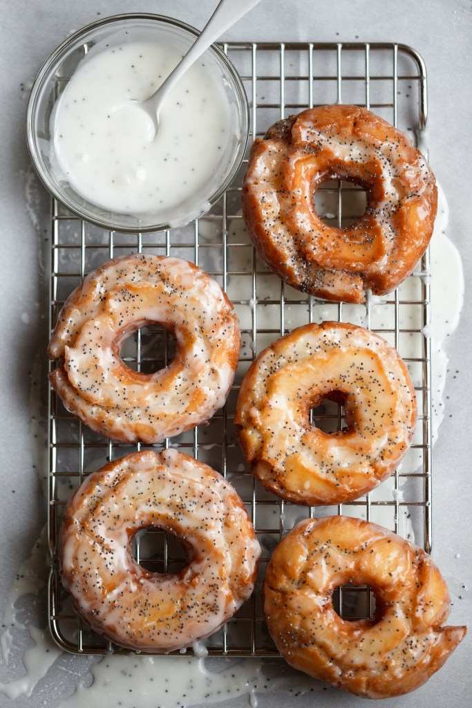 Lemon Poppy Seed Old Fashioned Donuts 683x1024 - Best January Recipes