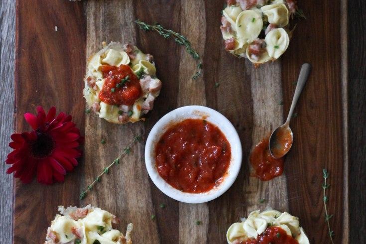 tortellini, tortellini muffin recipe, muffin recipe, buitoni, easy dinner recipe, easy dinner, dinner recipe