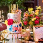 Birthday Party, Flirty 30, Cake