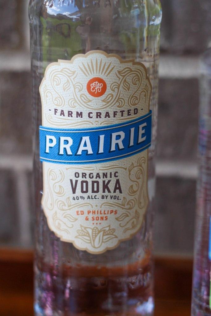Patio Bar Cart Essentials with Prairie Organic Spirits