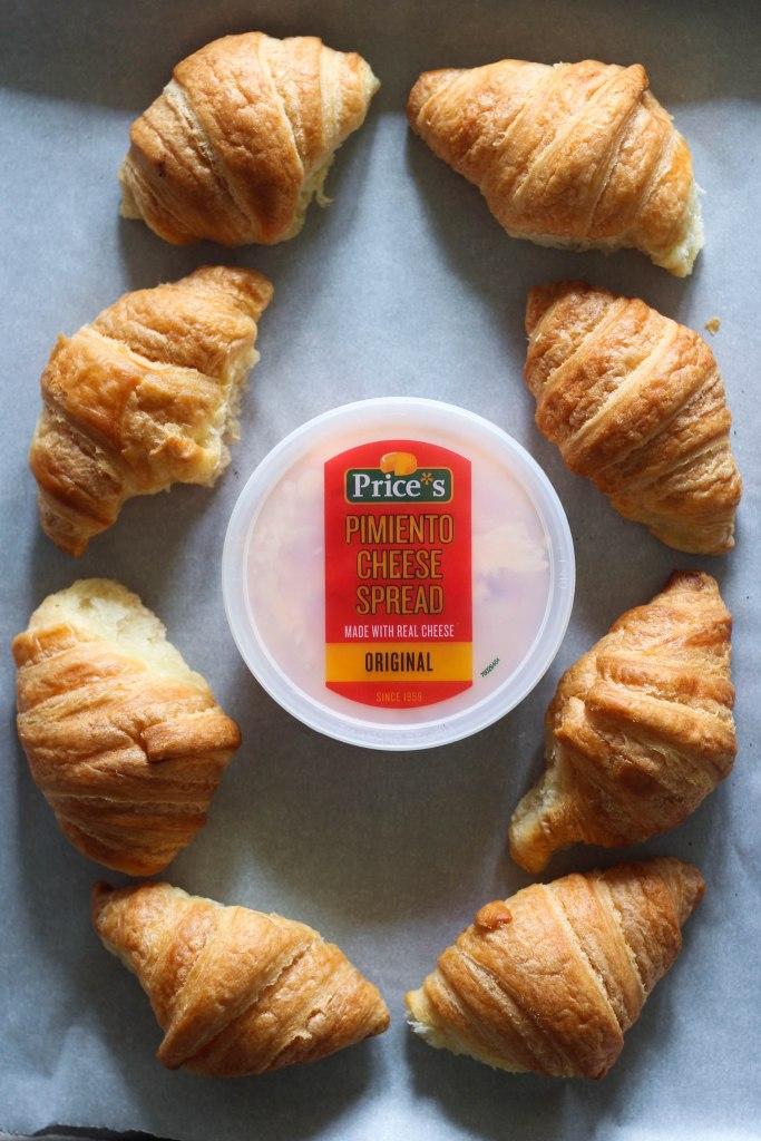 Smoked Paprika Cheese Croissants