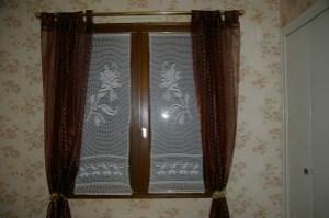rideau bleuets