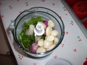 mixer les aromates