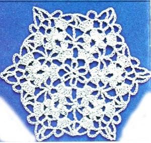motif hexagone