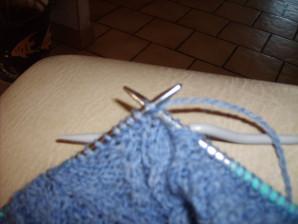 tricoter les 2 mailles suivantes