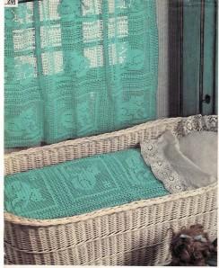 couverture et rideau chats turquoises