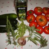 CUISINE BIO : tomates et courgettes à la Provençale - Blog Nature et petits animaux