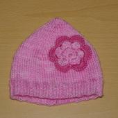 TRICOT LAYETTE : mini bonnet à fleur AVEC TUTO - Le blog de crochet et tricot d'art de Suzelle