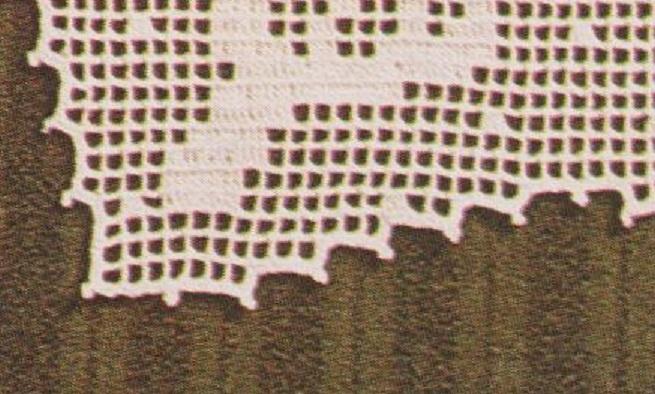 La bordure de la tétière.