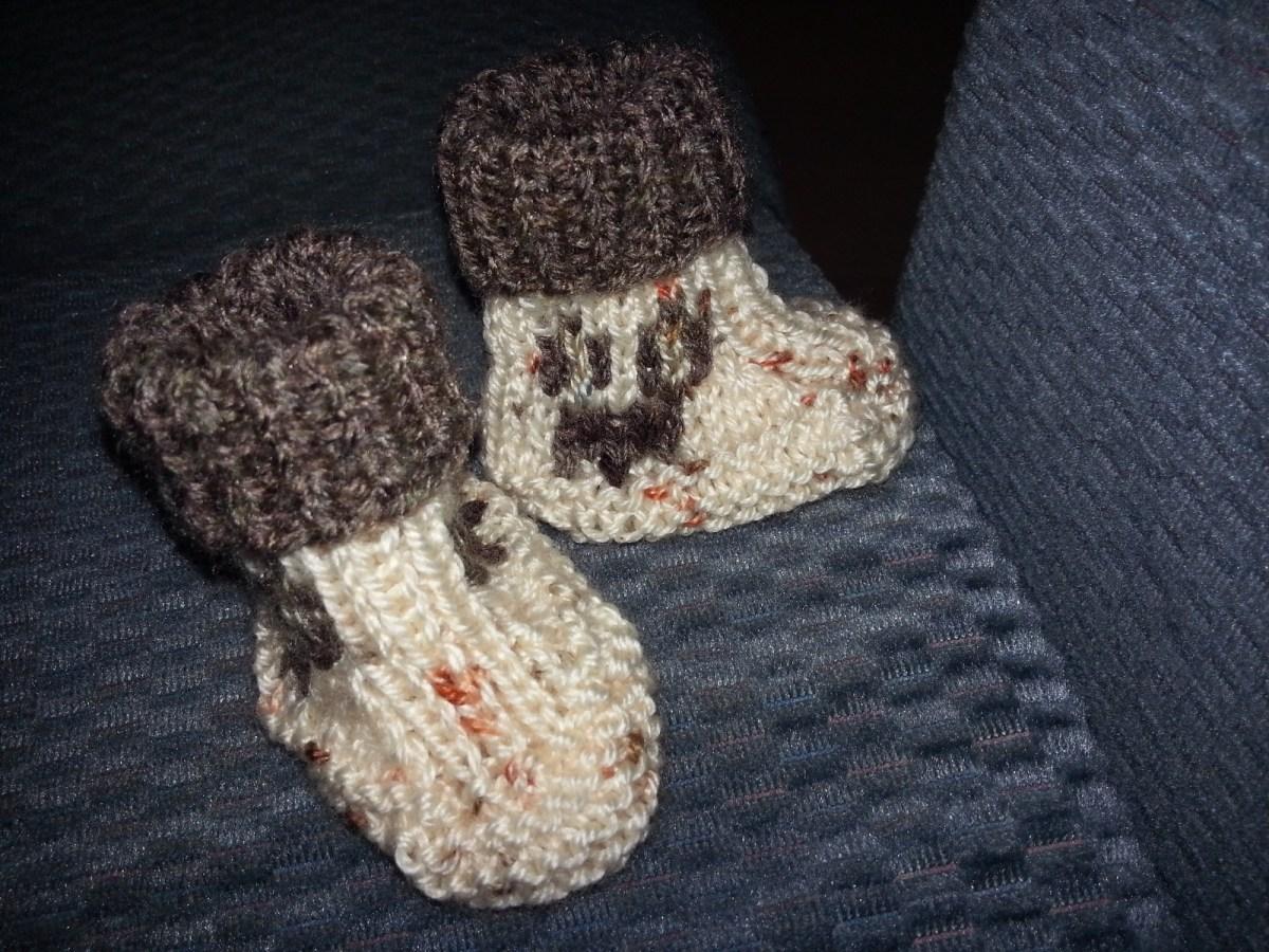 Ils sont tous petits : je tricote serré.