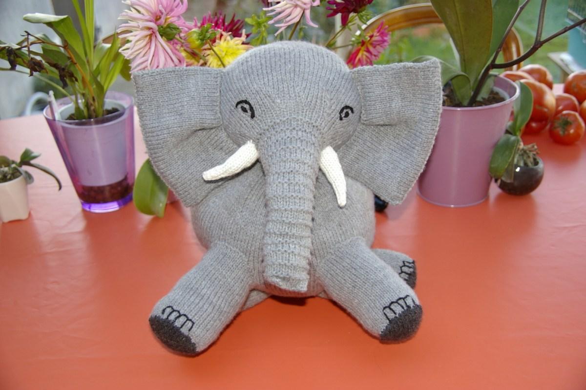 N'est-il pas mignon ce gros éléphant ?