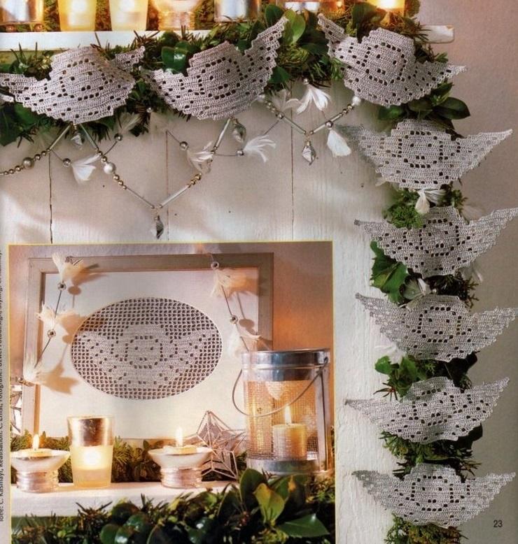 CROCHET : les ailes d'un Ange pour Noël TUTORIEL GRATUIT