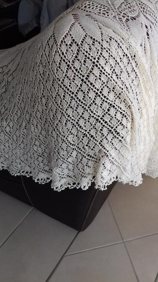 AIGUILLES : grande nappe ovale TUTORIEL GRATUIT