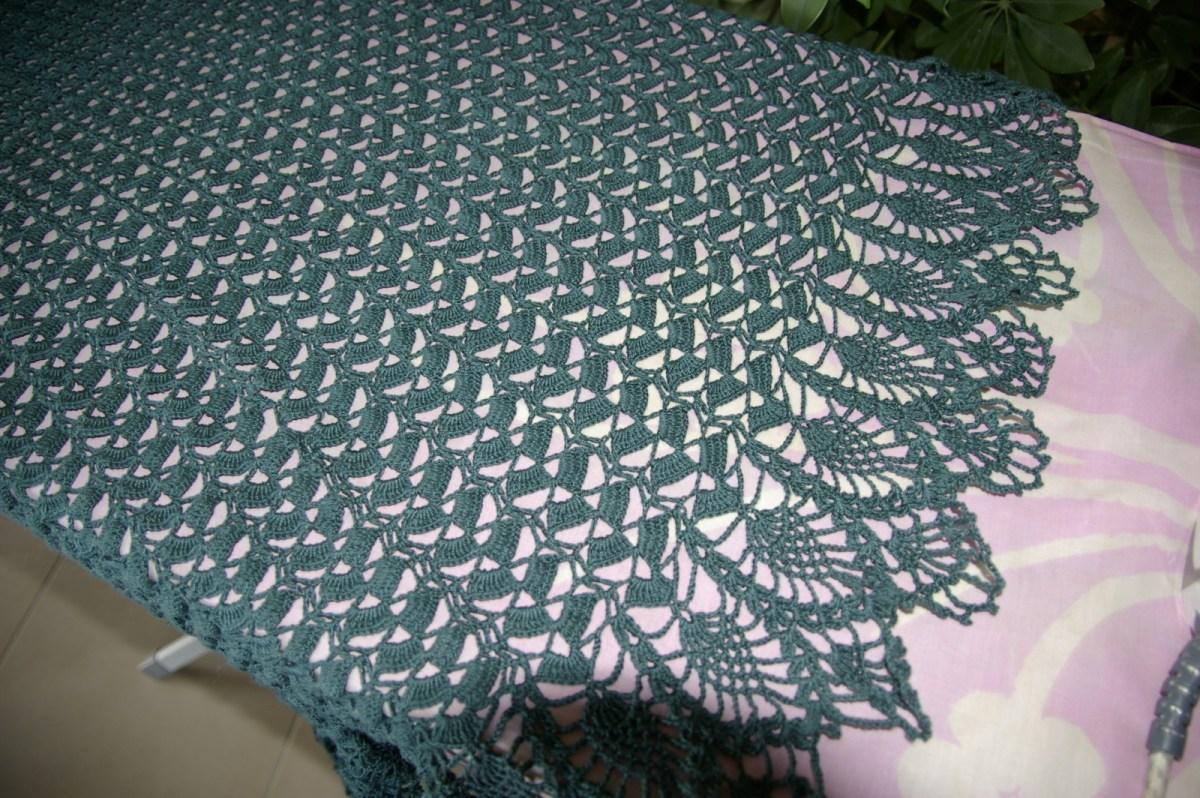 CROCHET : robe évasée Vert cyprès TUTORIEL GRATUIT