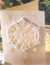 CROCHET : flocons et étoiles pour cartes TUTORIEL GRATUIT