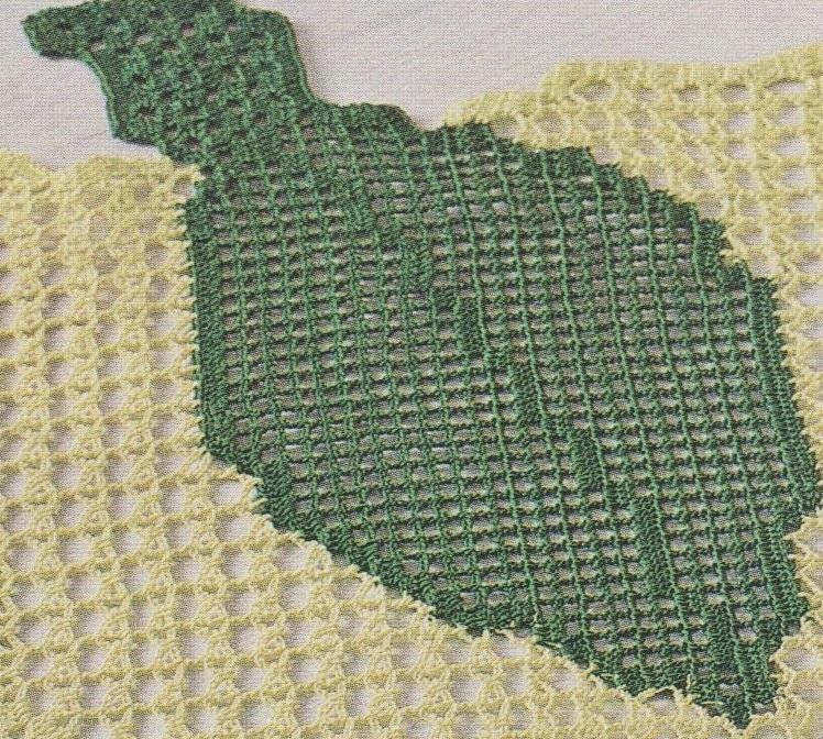 La feuille en vert foncé
