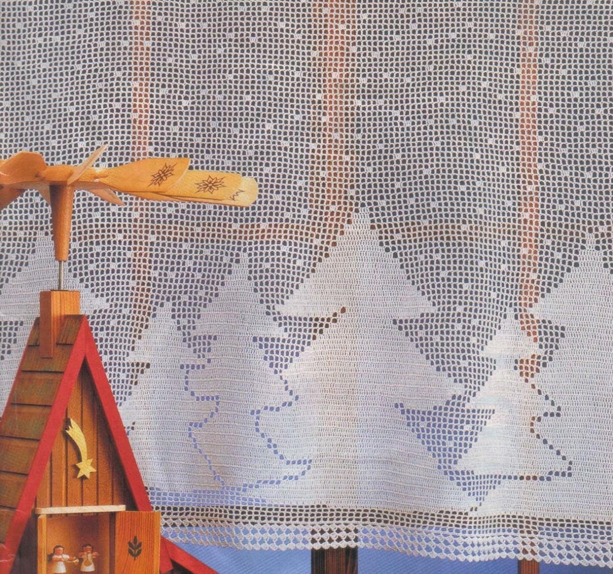 C'est un rideau assez sobre, idéal pour l'hiver et la montagne.