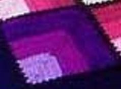 Voici un carré en camaïeu clair vers foncé