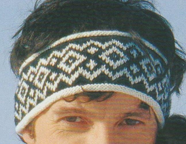 TRICOT : bandeau de ski motifs scandinaves TUTORIEL GRATUIT