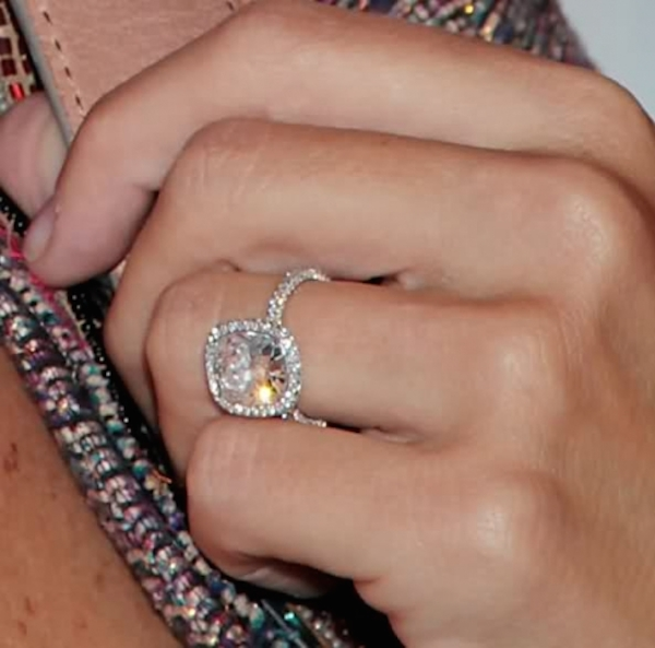 Celebrity Inspired Ring Bling Molly Sims Gorgeous