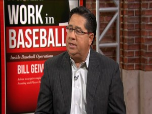 "Bill Geivett, author of ""Do You Want to Work in Baseball?'"