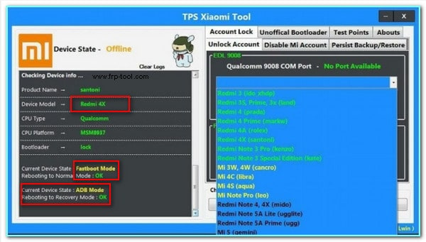 TPS Xiaomi Tool Latest Version Free Download and