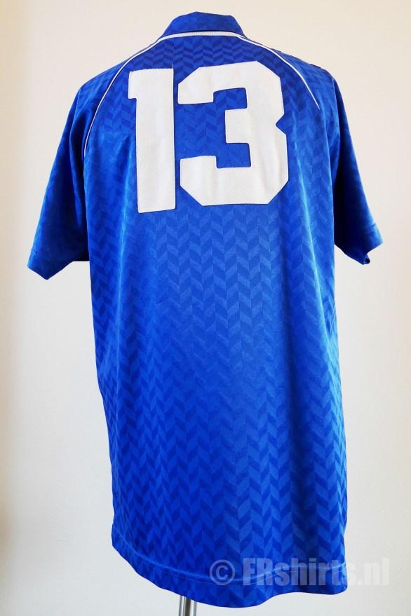 1989-1991 Uitshirt Blauw Achterkant