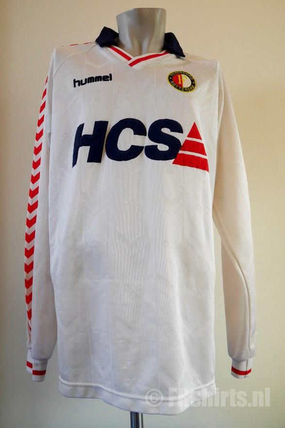 1989-1991 Uitshirt Wit