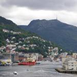 Uitzicht op Bergen, Noorwegen